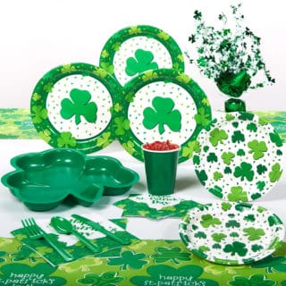 Saint Patricks Day Decorations and Party Supplies