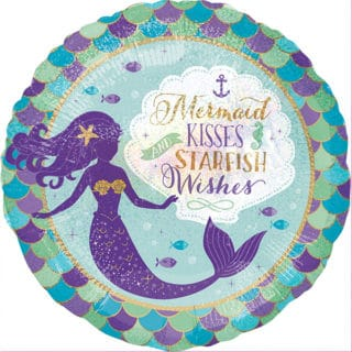 Mermaid Wishes General Birthday Party Supplies