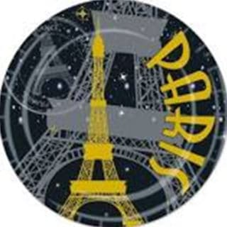 Paris Golden General Birthday Party Supplies