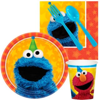 Sesame Street Boy's Party Supplies