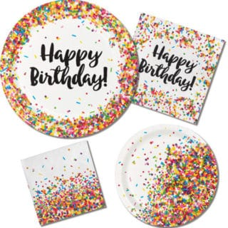 Sprinkles General Birthday Party Supplies