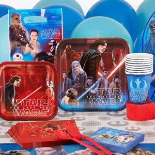 Star Wars The Last Jedi Birthday Party Supplies