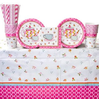 Tea Party Themed Party Supplies