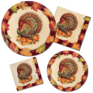 Fall and Thanksgiving Tableware