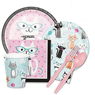 Purr-fect General Birthday Party Supplies